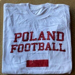 Other - Poland Football T-Shirt Size XL